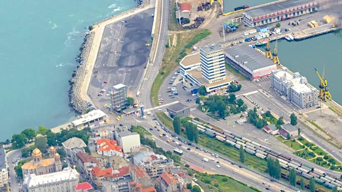 Portul Constanța. FOTO Liviu Dnistran / Forțele Aeriene Române