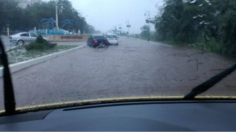 Inundatii puternice în Năvodari
