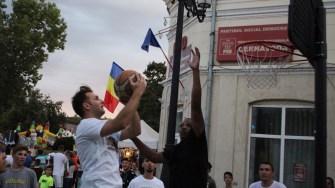 Baschet la Zilele Orașului Cernavodă. FOTO Adrian Boioglu