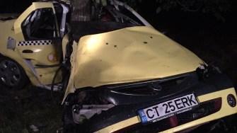 Accident mortal la Viișoara. FOTO SAJ Constanța