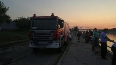 Pompierii caută un bărbat dispărut