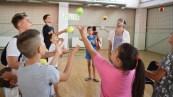 Copiii din Cumpăna au participat la atelierele interactive ale Autobuzului veseliei