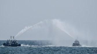 Remorcherele Fortelor Navale la Ziua Marinei 2017. FOTO Cătălin Schipor