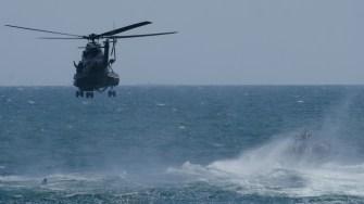 Elicopter Puma Naval la Ziua Marinei 2017. FOTO Cătălin Schipor