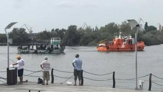 Port mangalia, migranti, pescador