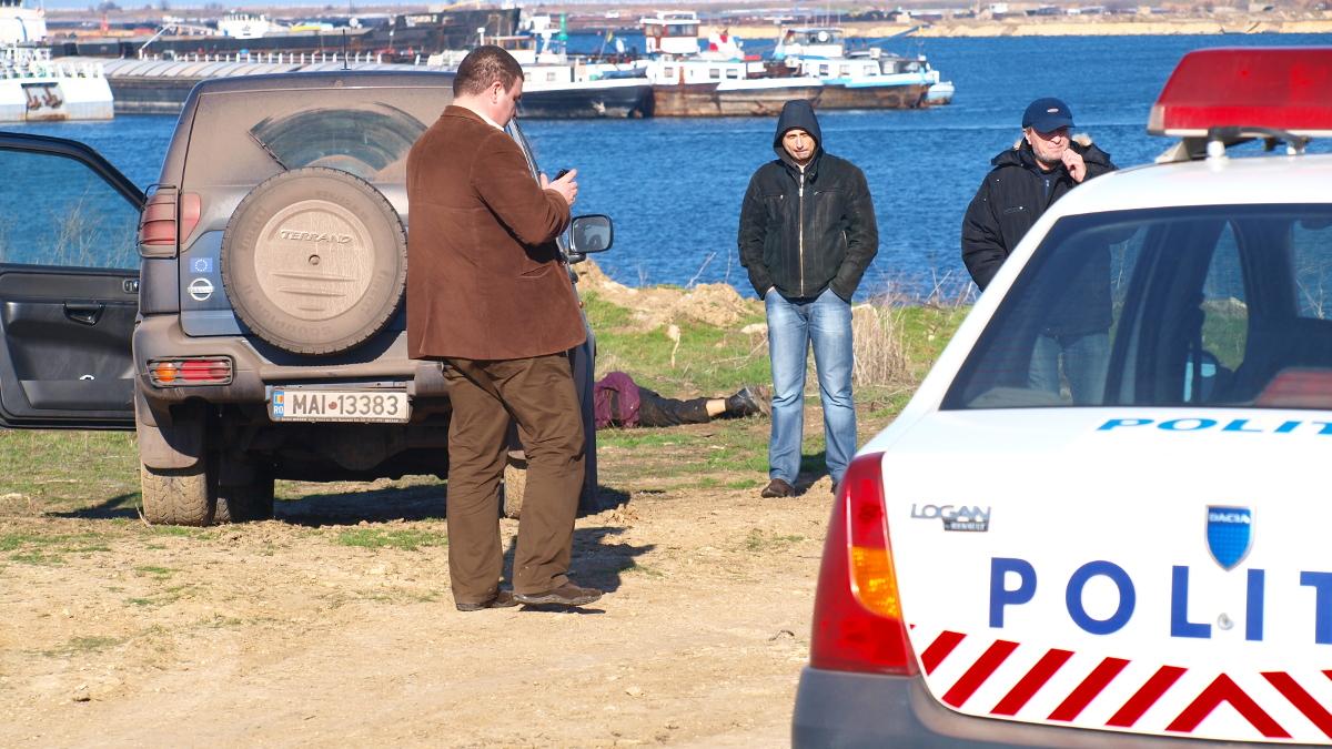 Cadavru in Portul Constanta