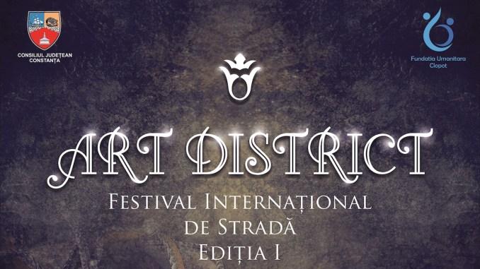 Afișul Art District