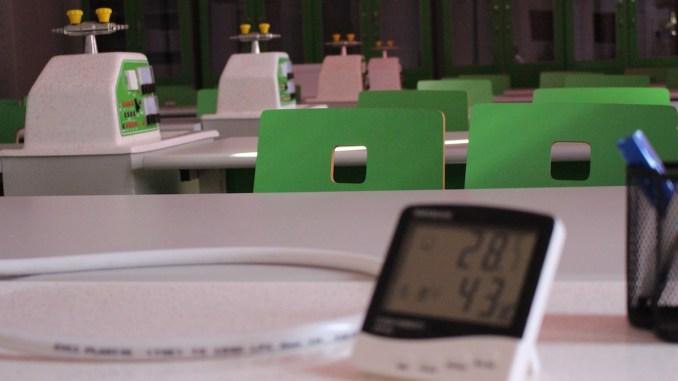 Dotări la Liceul Anghel Saligny din Cernavodă. FOTO Adrian Boioglu