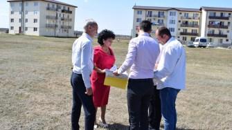 Primarul comunei Cumpăna, ec Mariana Gaju, s-a intalnit cu reprezentanti ai ANL – Bucuresti