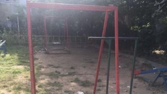Locurile de joaca din municipiul Constanța au ajuns ruine. FOTO OPC Constanta