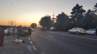Un grav accident rutier s-a produs la ieșirea din Constanța.