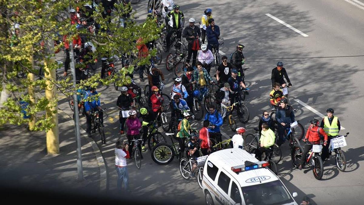 Protestul biciclistilor in Constanta (5)