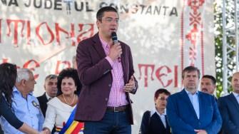 Presedintele CJ Constanta, Horia Marius Tutuianu a luat cuvantul la ZIlele Cumpenei