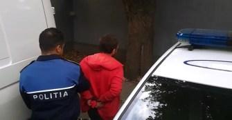 Suspectul a fost prins de către polițiști. FOTO CTnews.ro (Foto arhivă)