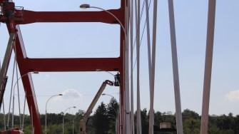 Reabilitatea Podului Sfânta Maria din Cernavodă. FOTO Adrian Boioglu