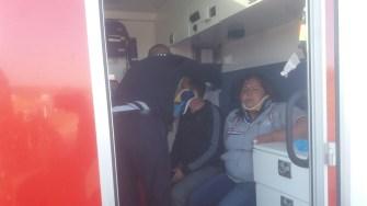 Victimele din accident au fost transportate la spital