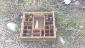 Persoane necunoscute au încercat să fure o cutie cu grenade din curtea fostei IMUM