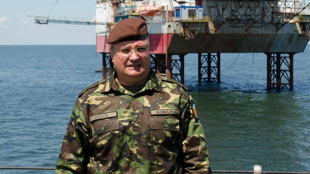 General Nicolae-Ionel CIUCA.Seful Statului Major al Apărării