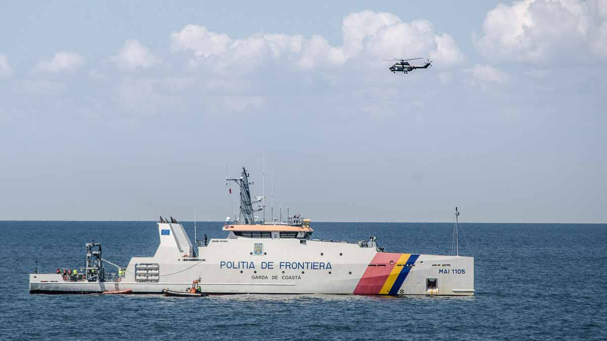 Nava Politiei de frontiera – Garda de Coasta – Stefan cel Mare