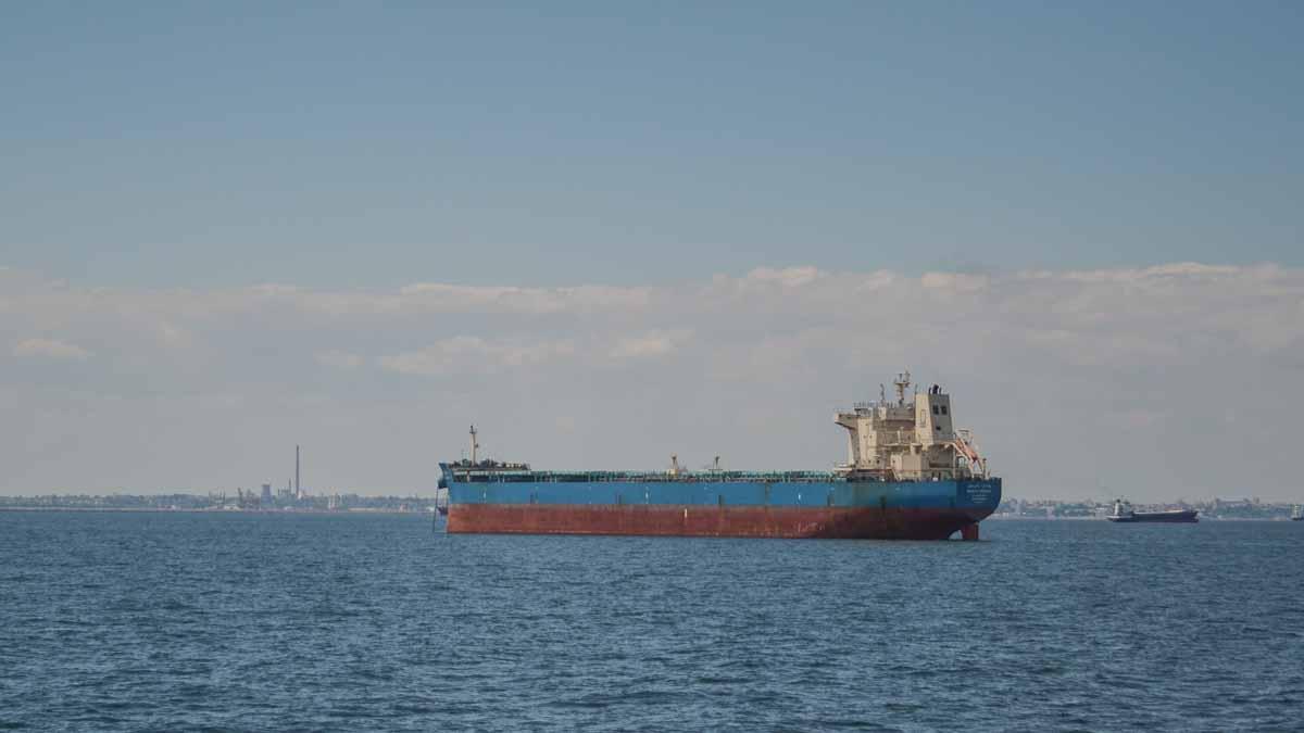 Nave comerciale in rada exterioara a Portului Constanta (4)