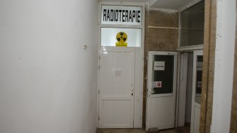 Secția de Radioterapie nu a mai putut ajuta de mult timp bolnavii de cancer. FOTO Cătălin Schipor