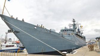 """Fregata """"Regele Ferdinand"""". FOTO Cătălin Schipor"""