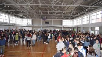 Elevii din Cumpăna au putut consulta ofertele educaționale ale mai multor instituții de învățământ. FOTO Primăria Cumpăna