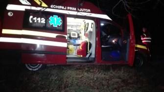 Cadrele medicale nu au mai putut face nimic pentru pasagerul rănit. FOTO CTNWS.RO