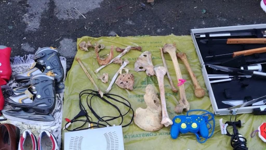 EXCLUSIV Comerț cu oase umane în târg! Poliția Constanța a deschis un dosar de cercetare penală
