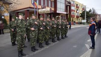 Militarii, la Cumpăna FOTO Primăria Cumpăna