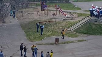 Copiii speră că vor reuși să își slaveze parcul
