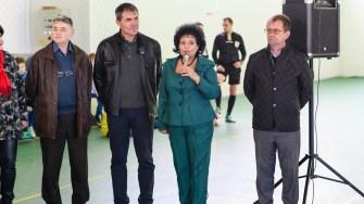 Achiziția echipamentelor sportive a fost posibilă cu ajutorul sponsorilor găsiți de primarul Mariana Gâju. FOTO Primăria Cumpăna