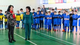 Toți sportivii din Cumpăna au primit echipamente sportive noi. Valoarea investiției se ridică la 120.000 de lei. FOTO Primăria Cumpăna
