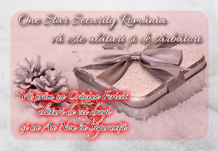 felicitare One Star Security