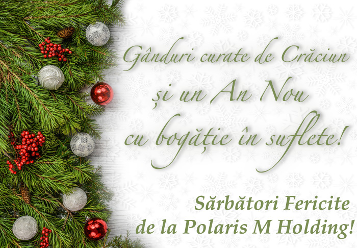 Felicitare Polaris M Holding. FOTO CTnews.ro