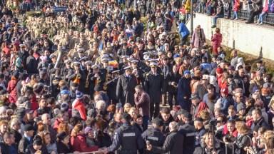 Fanfara Forțelor Navale a fost prezentă la Bobotează. FOTO Cătălin Schipor