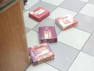 Cosmetice furate de la un magazin din Constanța. FOTO Zip Escort