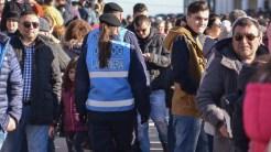 Jandarmii au asigurat măsurile de ordine publică. FOTO Cătălin Schipor