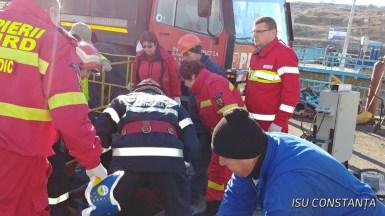 Echipele de salvare au intervenit pentru salvarea unui bărbat căzut într-un puț. FOTO Arhivă/ISU Dobrogea