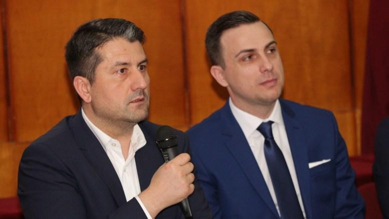 Decebal Făgădău și Leonard Drăgan. FOTO TSD Constanța