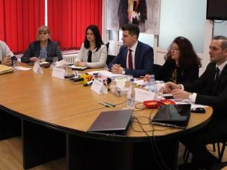 Comisia de selecție a managerului spitalului Medgidia. FOTO Adrian Boioglu