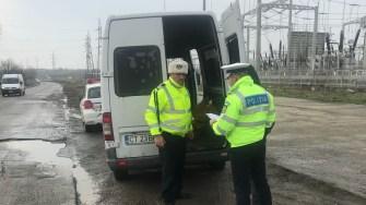 Polițiștii constănțeni au fost angrenați într-o acțiune de amploare. FOTO IPJ Constanța