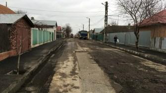 Au început asfaltările la Cernavodă. FOTO CTnews.ro