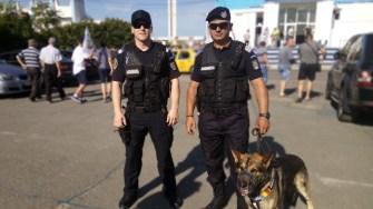 Jandarmii vor asigura măsurile de ordine și liniște publică la mai multe evenimente sportive. FOTO IJJ Constanța