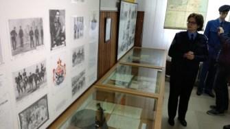 Obiecte vechi ce au aparținut jandarmilor de-a lungul timpului sunt păstrate într-o sală specială.