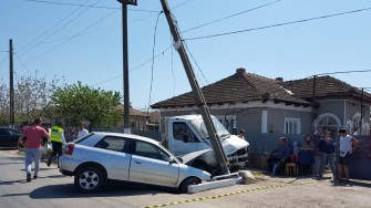 O manevră greșită a fost pe punctul de a declanșa o tragedie.FOTO CTnews.ro