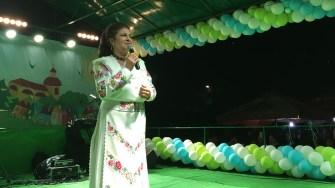 Irina Loghin la Ziua comunei Mircea Vodă. FOTO CTnews.ro
