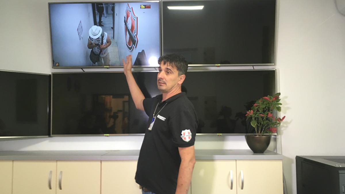 Firma de pază pentru siguranța orașului Ovidiu. FOTO CTnews.ro