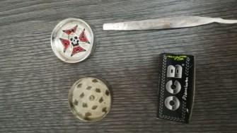Jandarmii GJM Tomis au adunat droguri din Vama Veche și până în Mamaia. FOTO GJM Tomis