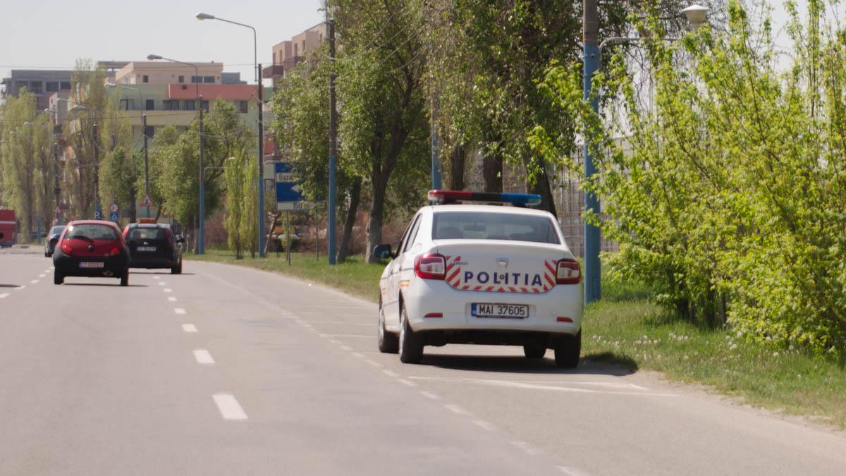 masina de politie mamaia